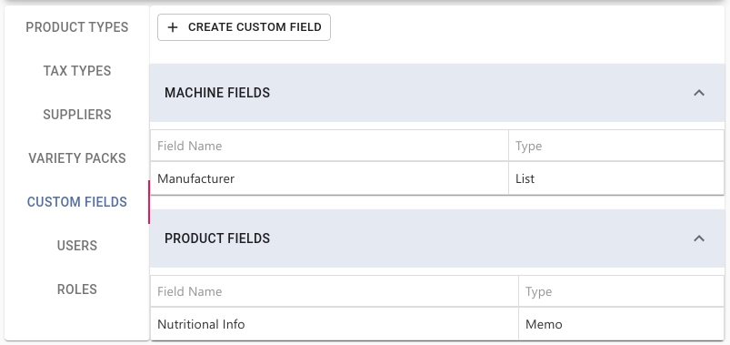 Custom Fields Overview